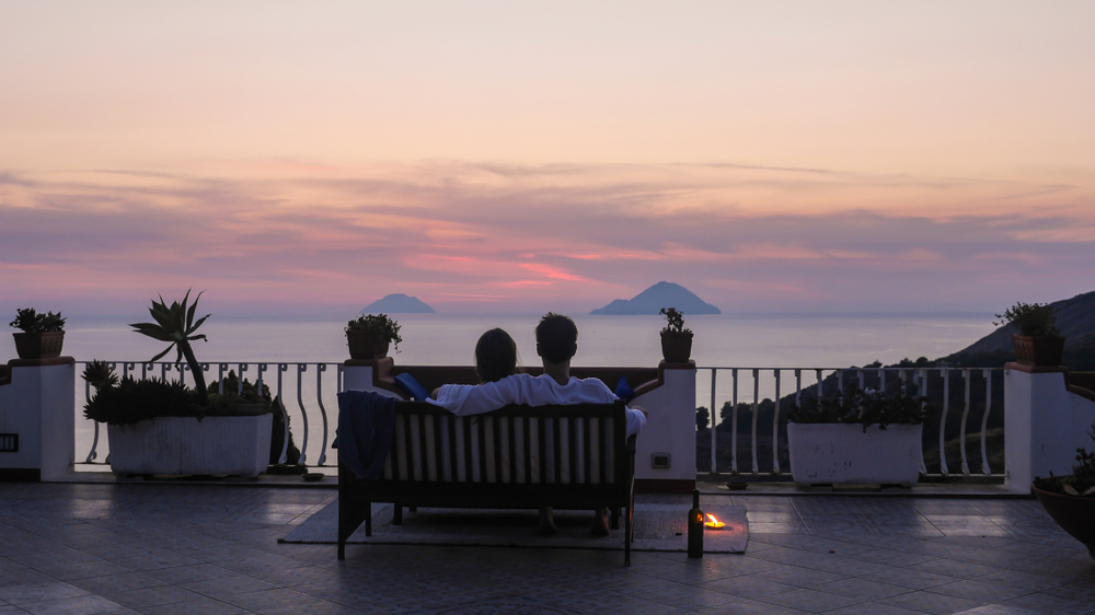 Aeolian Islands sunset