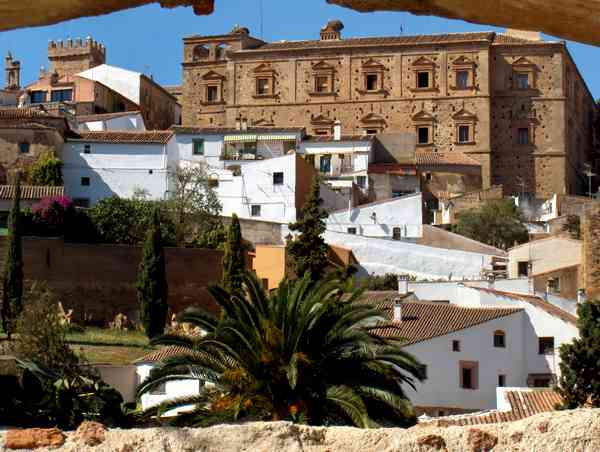 Spanish Town of Caceres in Extremadura