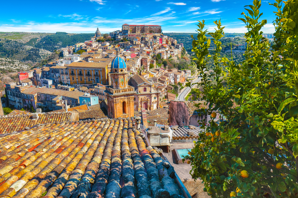 baroque town of Ragusa
