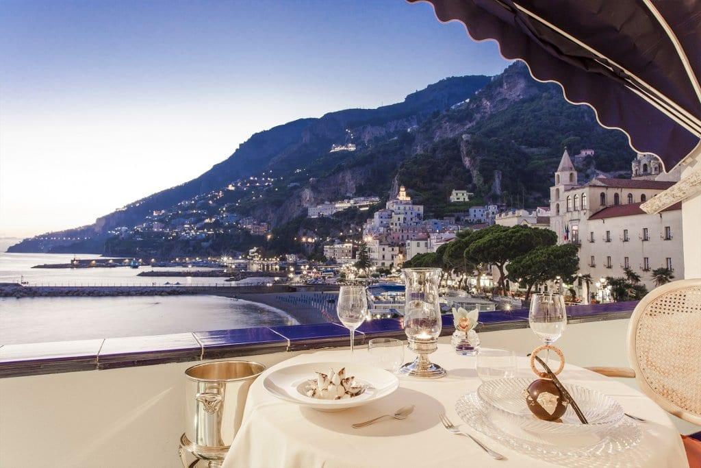 Eolo Restaurant, Amalfi Coast