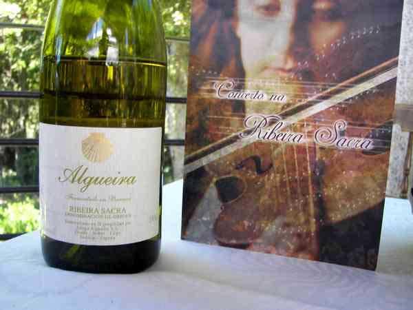 Adega Algueira Wine estate Galicia Spain