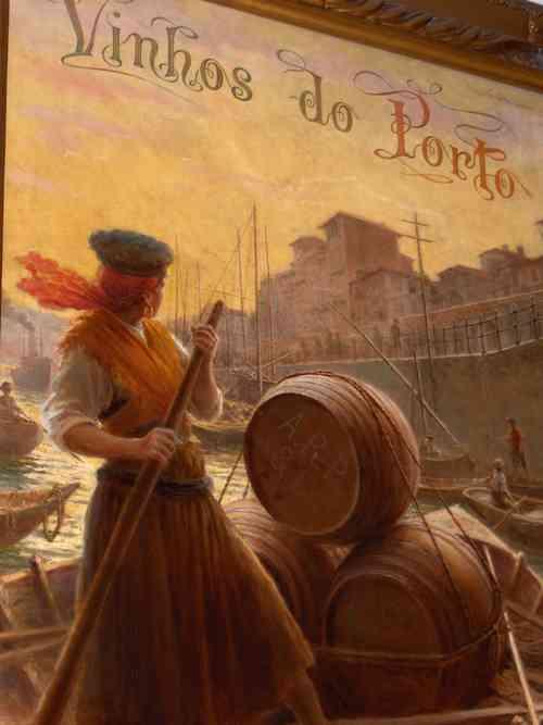 Ramos Pinto Port Wine Lodge in Oporto