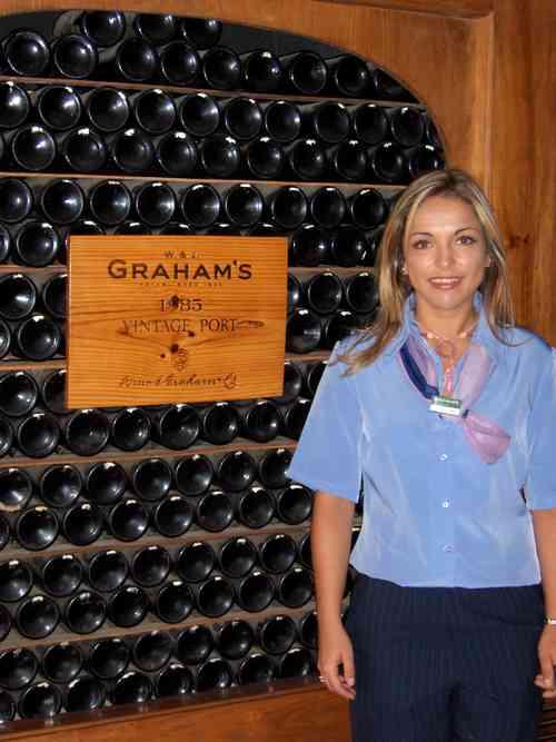 Graham´s Port Wine Lodge in Oporto
