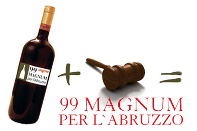 Wine Auction benefit in Rome for Victims of Abruzzo earthquake