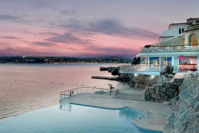 Best luxury beach resorts in europe this summer cellar tours for France pools