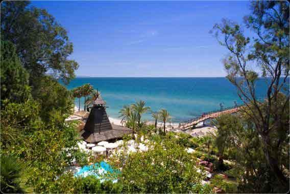luxury beach resorts Europe