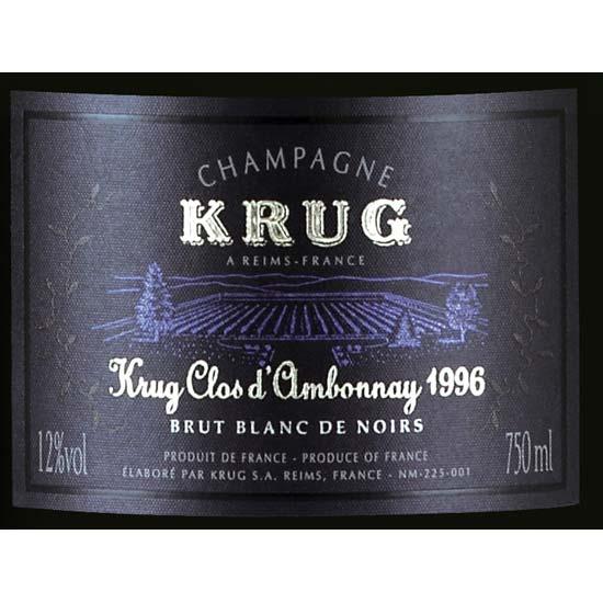 Krug 1996 Clos D'Ambonnay