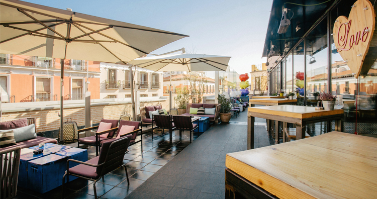 Madrid S Best Rooftop Bars Cellar Tours