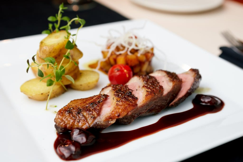 Mencia paired with Roast Duck