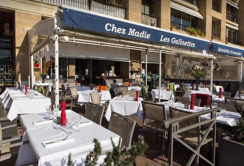 Chez Madie Les Galinettes, 138 quai du Port, Marseille