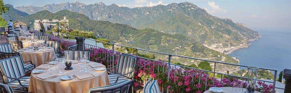 Belvedere restaurant, Hotel Caruso
