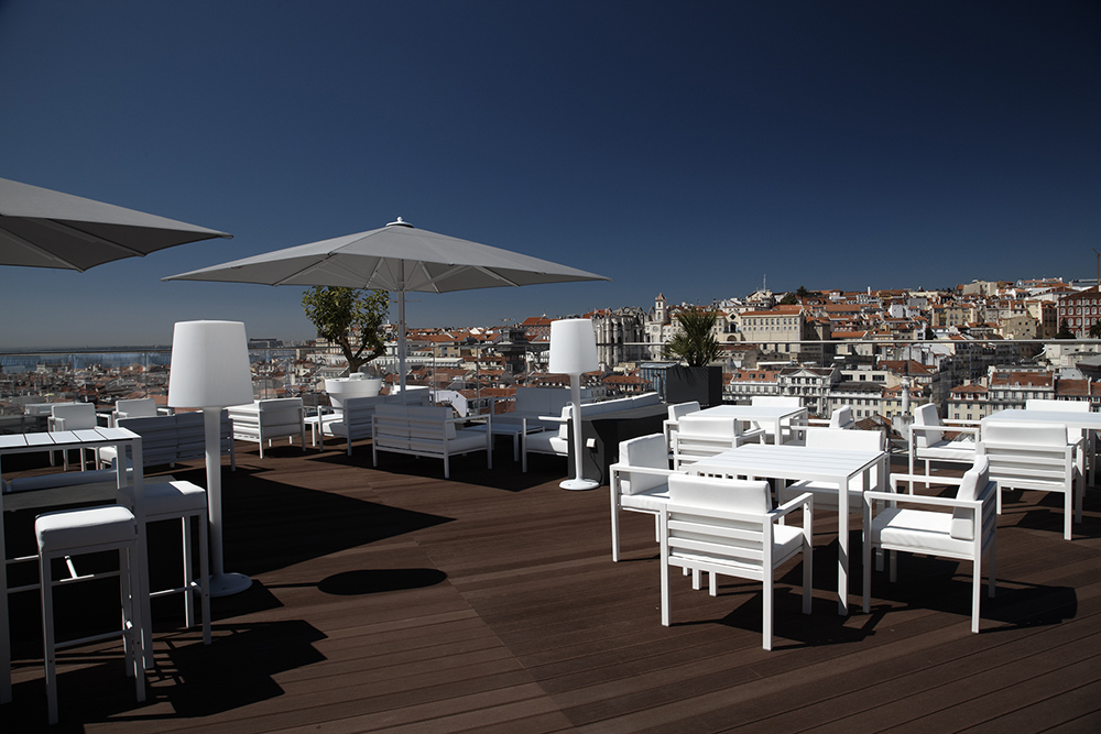 Rooftop at Hotel Mundial