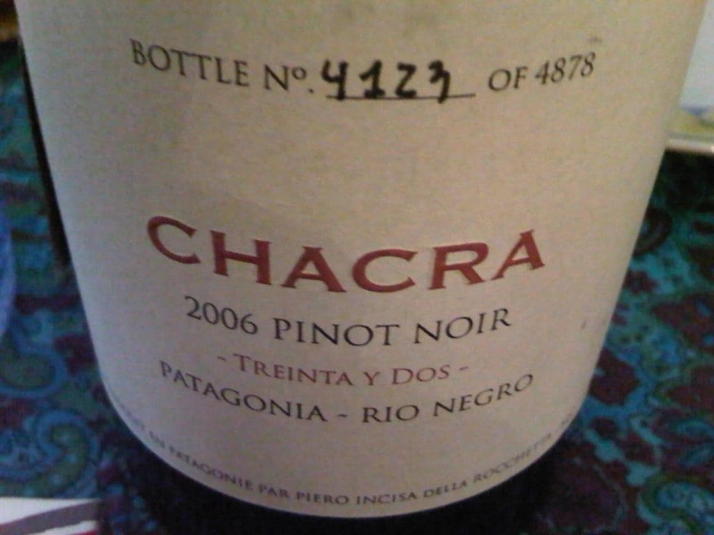 Bodega Chacra - Treinta y Dos