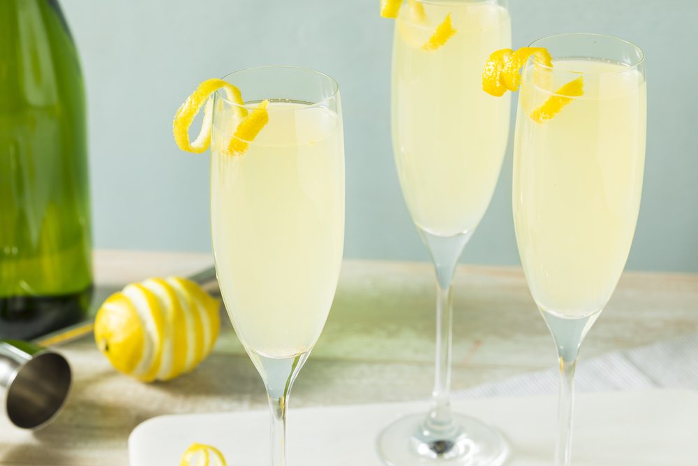 Champagne Cocktail French 75