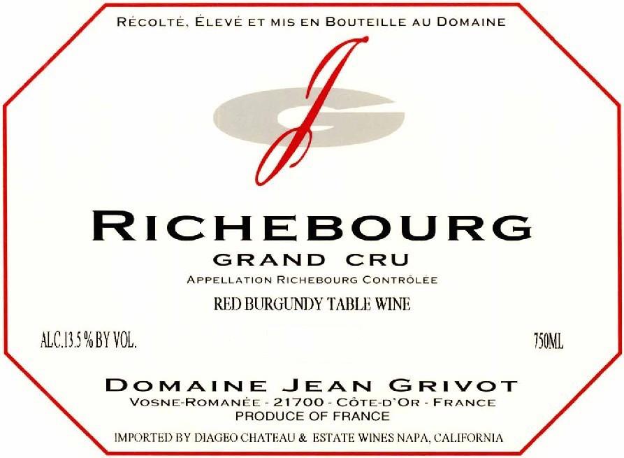 Jean Grivot, Richebourg