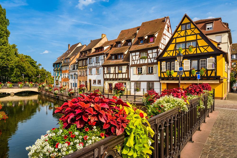 beautiful wine villages of Alsace