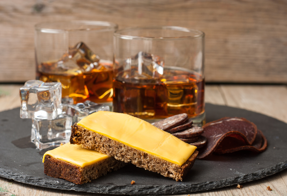 Whiskey and gastronomy