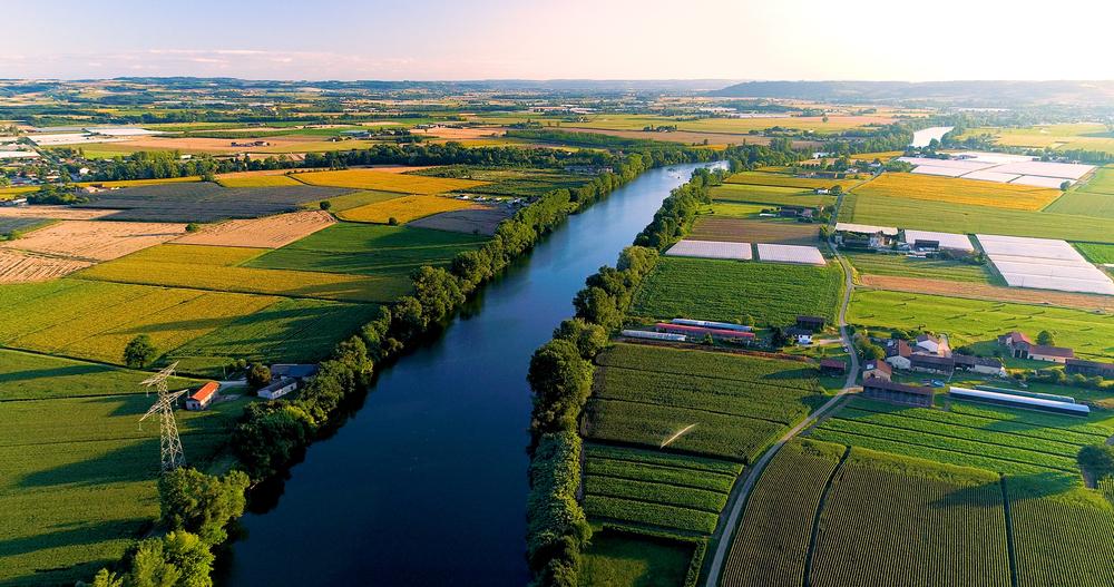 Bordeaux River Garonne