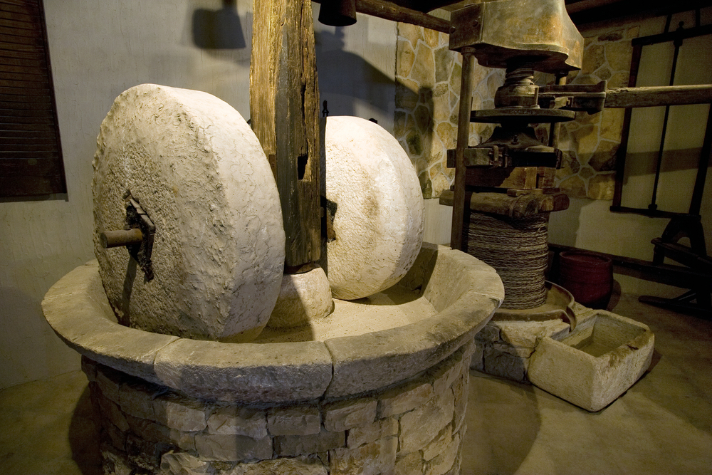 olive-oil-mill-stone