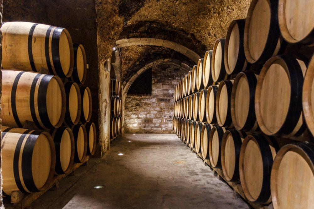 caves in Laguardia, Rioja