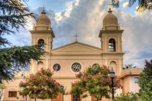 Del Rosario church in Cafayate