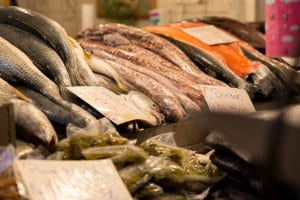 Fish, Mercado Central de Santiago