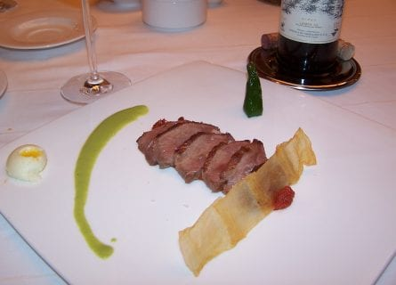Fine dining in Toledo