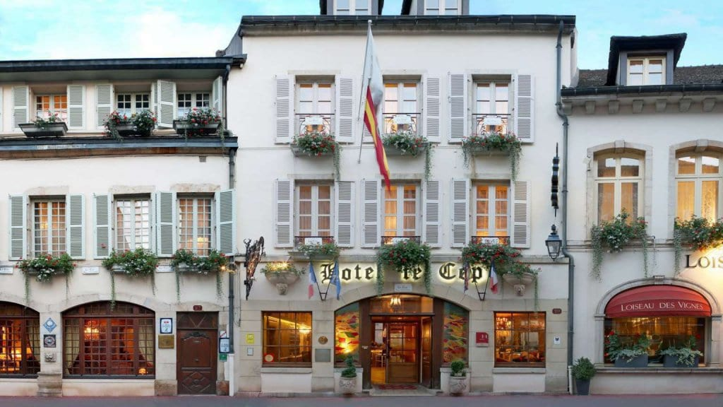 There Are Quite A Few Contestants For The Prize Of Beaune S Top Boutique Hotel But We Can Ure You That Le Cep Is Ten Leaps Ahead Rest