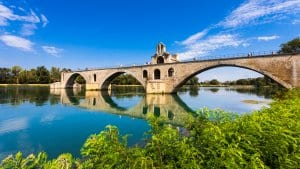 Pont Saint-Benezet on the Rhone River