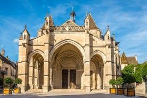 Basilica Notre Dame in Beaune