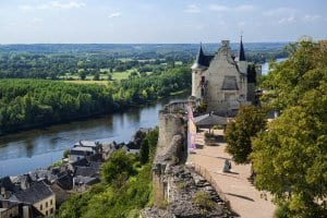 Vienne River from Royal Fortress of Chinon