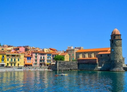 Beautiful port town of Collioure