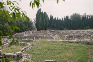 Roman baths, near NIce