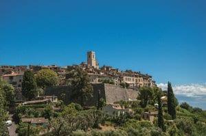 Medieval town of Saint Paul de Vence, near Nice