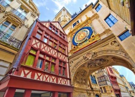 Clock Street, Rouen