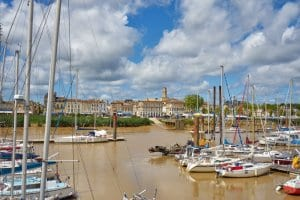 Pauillac town on the Gironde
