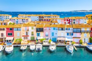 provence - grimaud-colorful-port-town