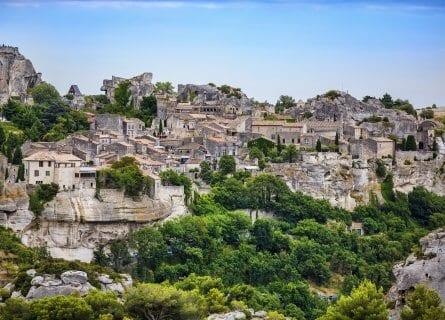 Bucolic hamlet of Les Baux-de-Provence