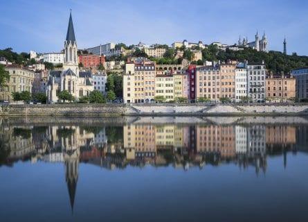 River Saone, Lyon