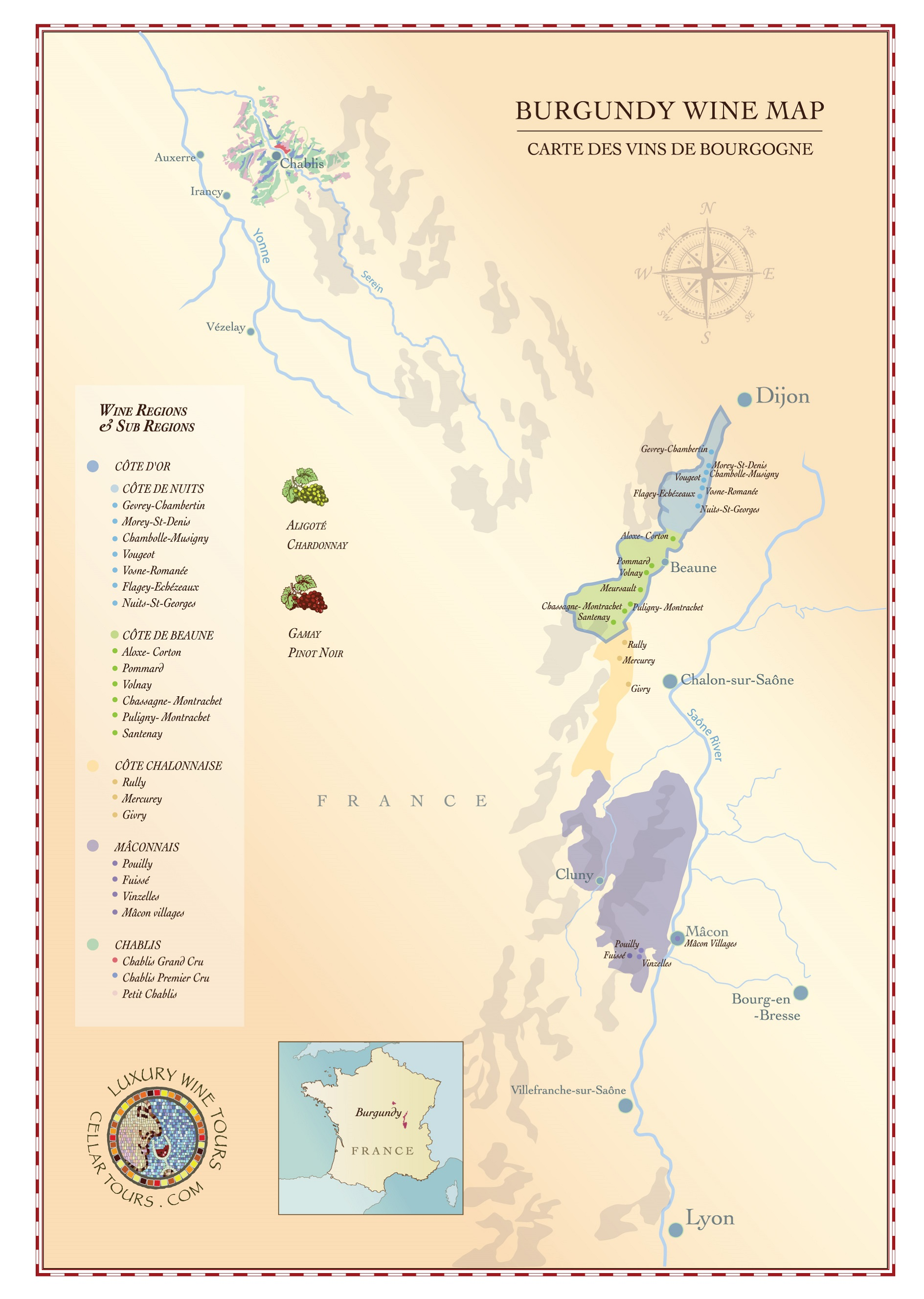 wine-maps - burgundy-wine-region-map