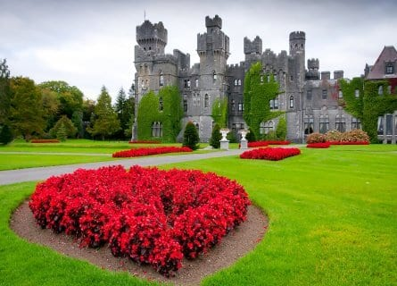 Romantic Ashford castle