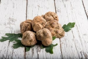 White truffles, a local delicacy