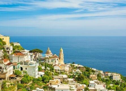Beautiful village of Praiano