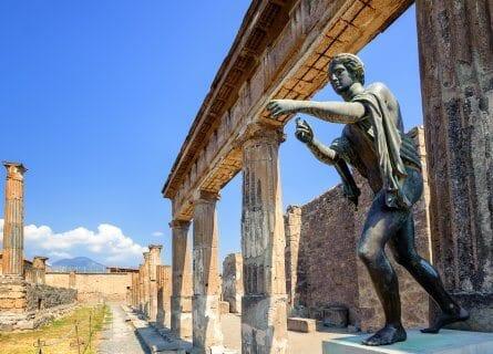 Temple of Apollo in Pompeii