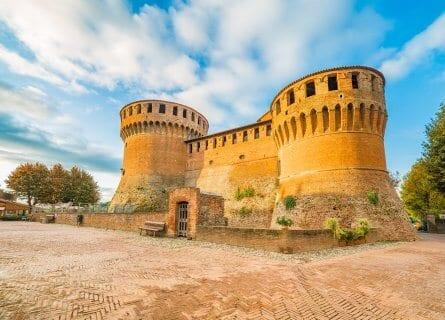 Medieval fortress in Dozza