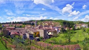 Beautiful Gaiole in Chianti