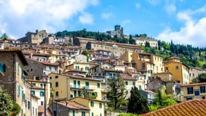 Cortona cityscape