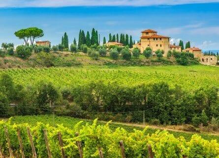Stunning Chianti countryside