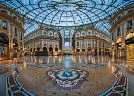 Galleria Vittorio Emanuele arcade
