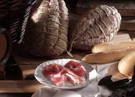 Delicious Culatello ham